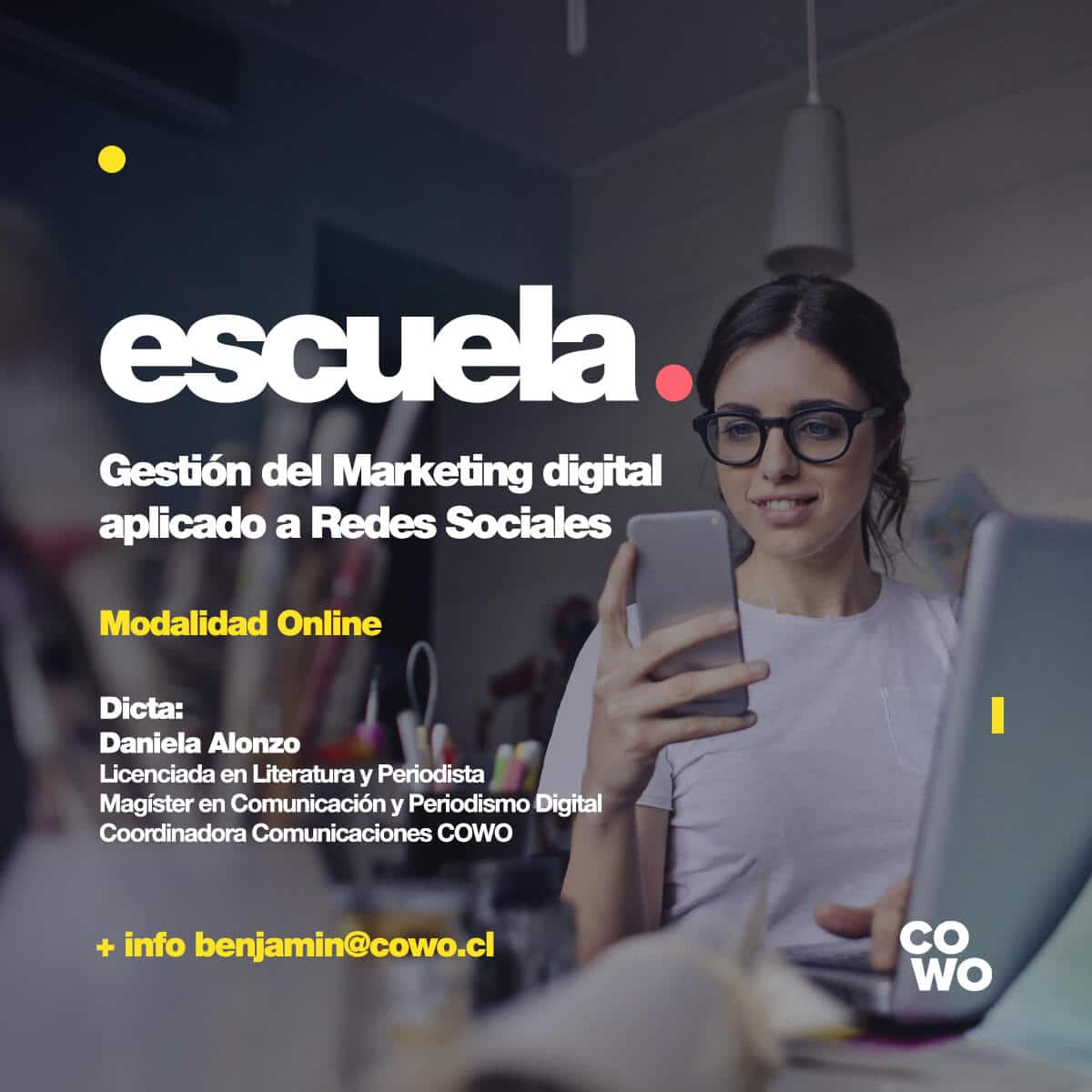 Gestión del Marketing Digital aplicado a Redes Sociales