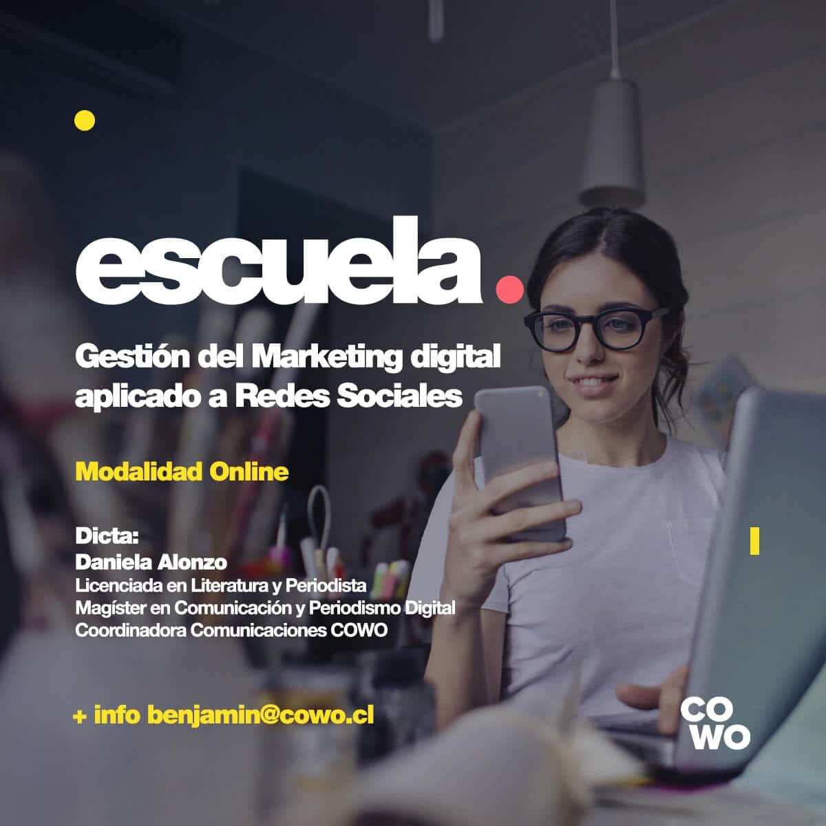 Gestión del Marketing Digital aplicado a Redes Sociales