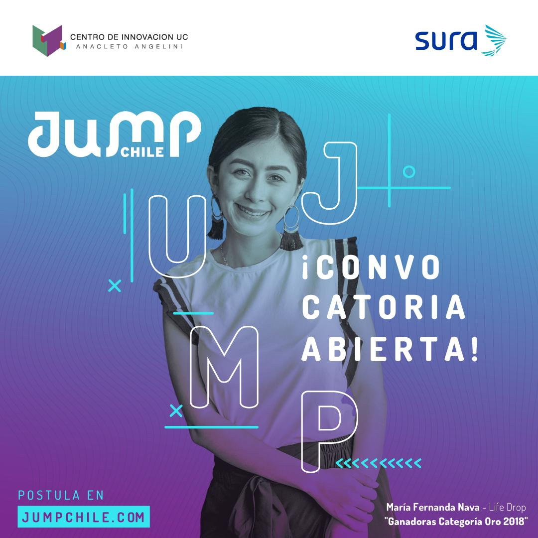 JUMP CHILE: CONVOCATORIA ABIERTA! POSTULA AQUÍ!