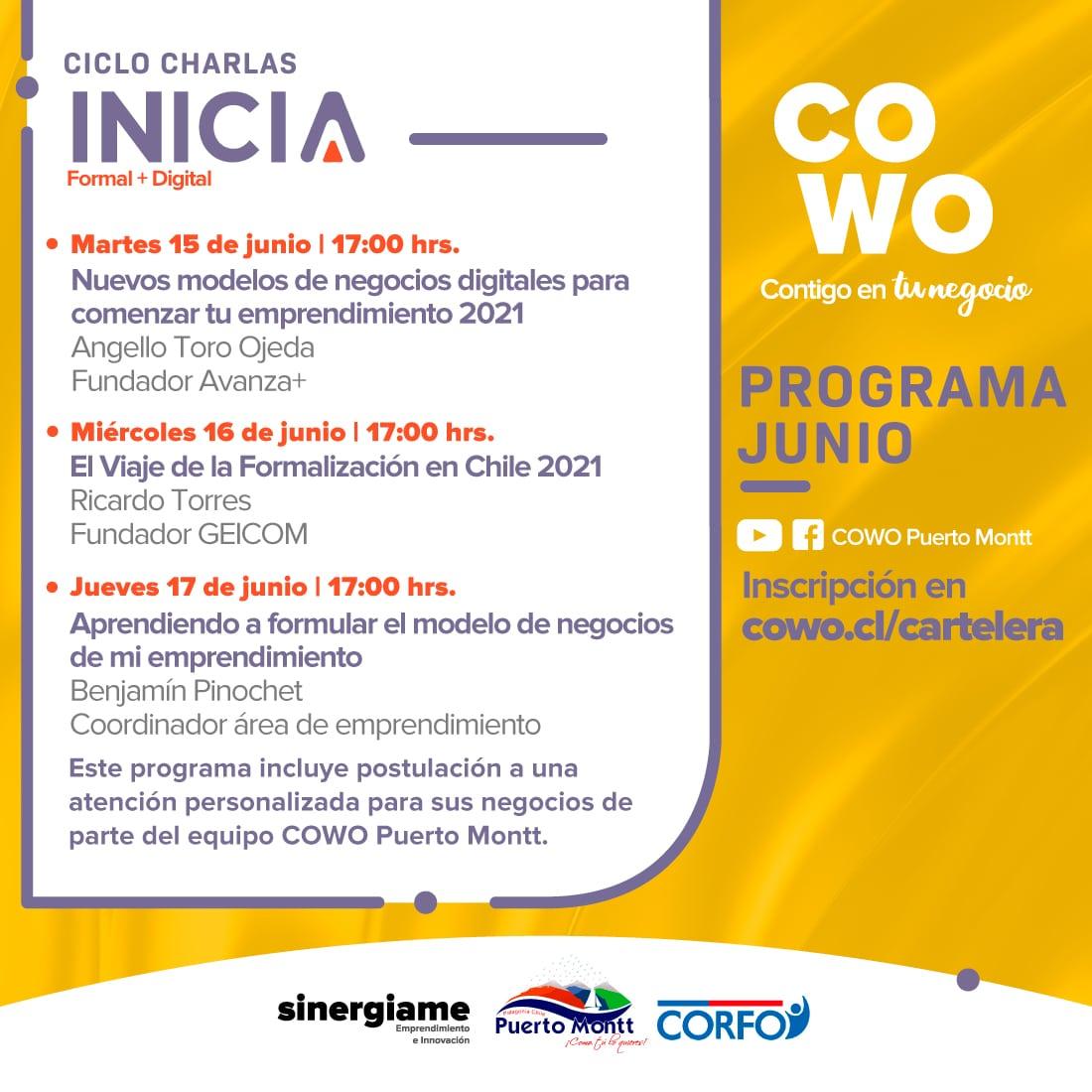 Programa Inicia: +Formal +Digital Junio 2021