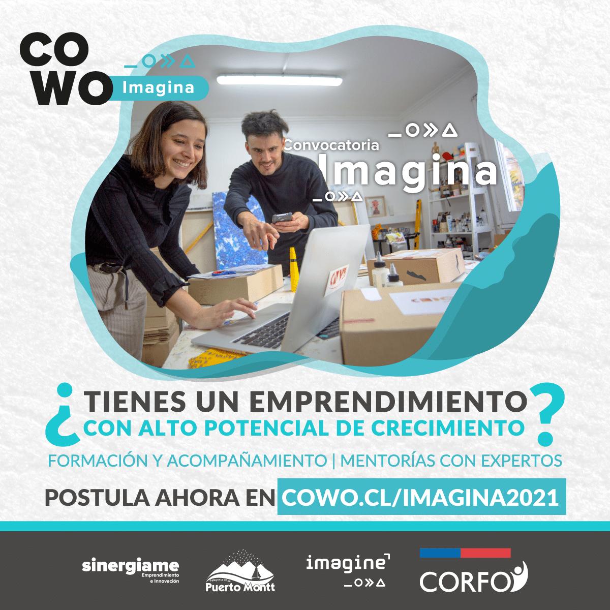 Programa Imagina 2021: Convocatoria para emprendedores
