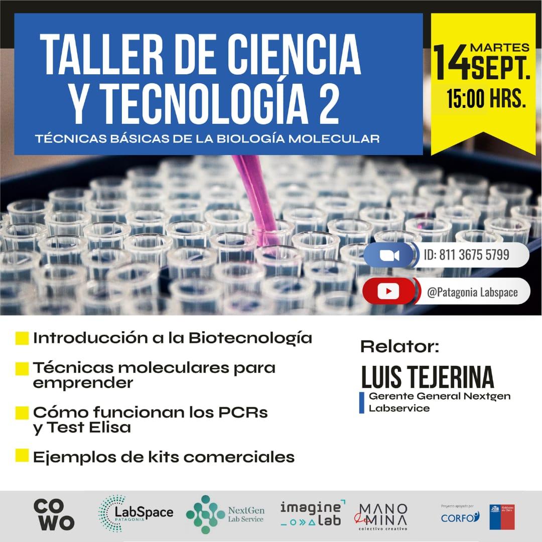 Taller de ciencia y tecnología – Técnicas básicas de la biología molecular